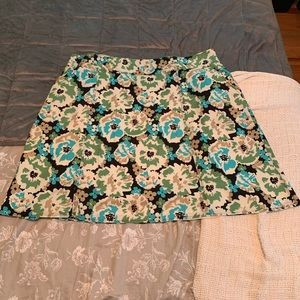 Merona Plus 24 skirt floral